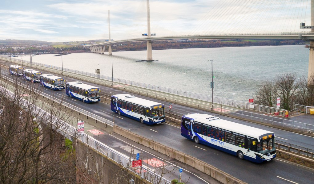 Scotland to trial first autonomous full-sized bus fleet in passenger service after £4.35m Innovate UK funding