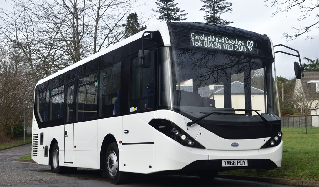 Enviro200 city bound as Garelochhead Coaches spreads it wings